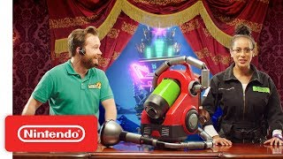 Download Luigi's Mansion 3 - Meet the New Poltergust G-00! - Nintendo Switch Mp3 and Videos