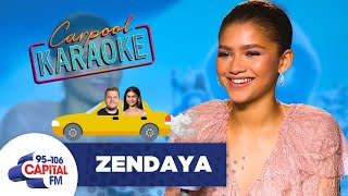 Zendaya Wants To Sing Michael Jackson In Her Own Carpool Karaoke ???? | FULL INTERVIEW
