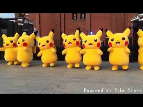 Pikachu Dance Cover - I Don't Like It, I Love It