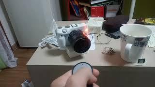 캐논 카메라 블루투스연결 모습