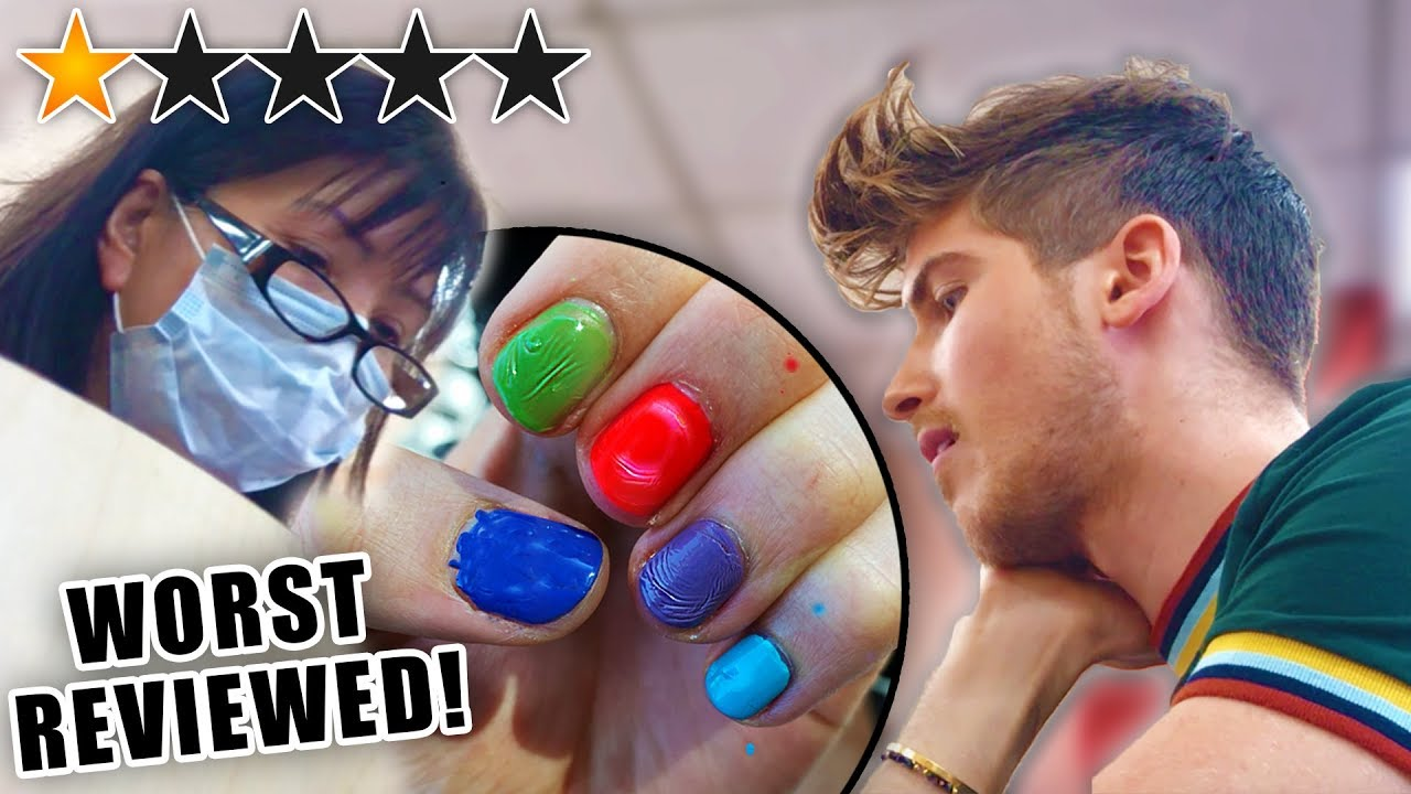 I Went To The Worst Reviewed Nail Salon In My City