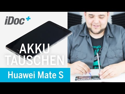 Huawei Mate S - Akku Austausch / replacing the battery