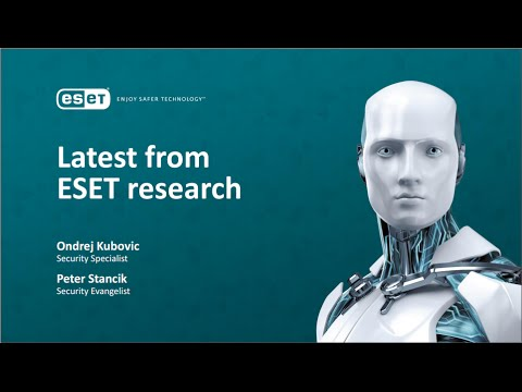 "Peter Stancik, Ondrej Kubovic ""Latest from ESET research"" (ESET Security Day Lietuva 2015)"
