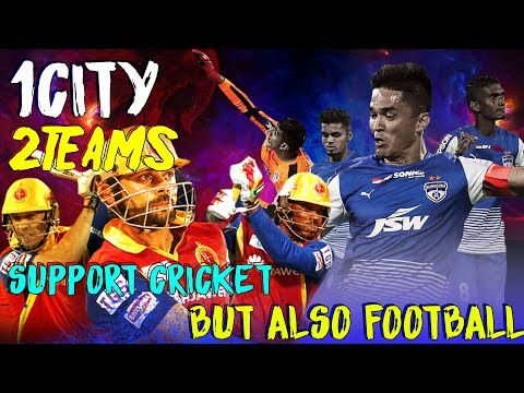 BFC fans vs RCB fans | Love Cricket but also Football |