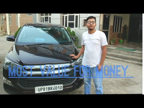 Innova Crysta 2.4 Vx Diesel Great Deal from Toyota review