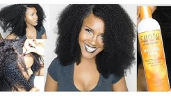 DETAILED  Afro Kinky Curly Bundles With Closure Installation Tutorial   Aliexpress Ever Beauty Hair