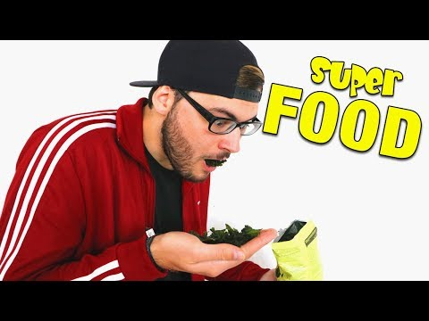ICH PROBIERE SUPERFOOD! (Amazon surprise box)