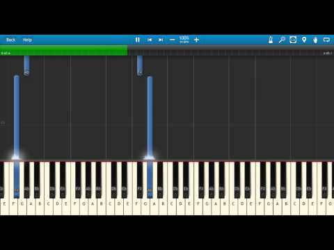 Drake - From Time ft. Jhene Aiko Piano Tutorial (how to play on Synthesia)