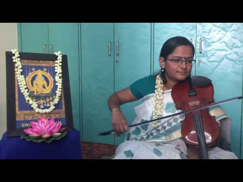 Udichuyarnnu mamala mele - Lord Ayyappa Devotional Song - Violin - Lakshmy Ganesh