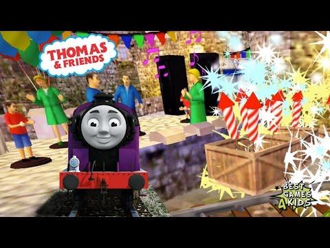 RYAN Transport fireworks to the castle! | Thomas & Friends: Express Delivery By Budge Studios