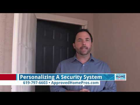 Personalizing A Security System: Clint's Personalized System