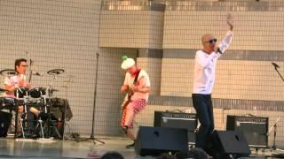 2015/9/13 代々木公園で開催されたONE ASIA 2015でのサンプラザ中野くん...