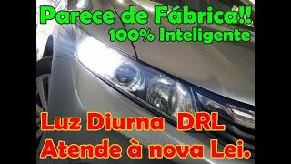 "Parece de fábrica!! .. Módulo DRL ""Luz Diurna"""