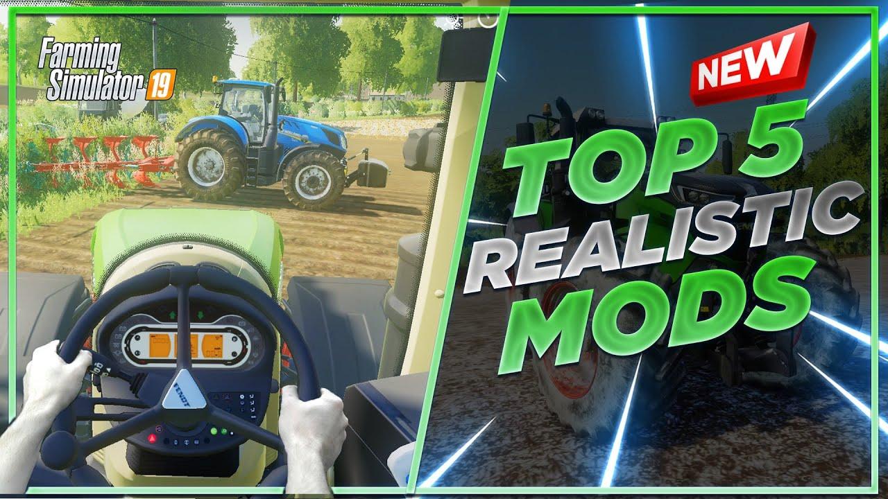 Farming Simulator 19'da EN İYİ GERÇEKÇİ 5 MOD!