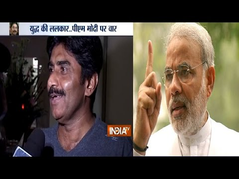 Javed Miandad Dares PM Modi to Go for a War with Pakistan
