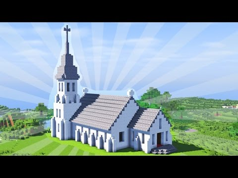 How To Build a Minecraft Church (CREATIVE BUILDING)