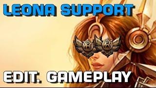 Leona - Support | Urlaubs-Gameplay [edit. Gameplay] [GER]