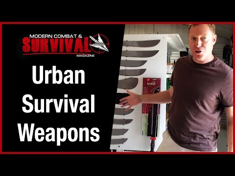 Urban Survival Weapons When Traveling Overseas