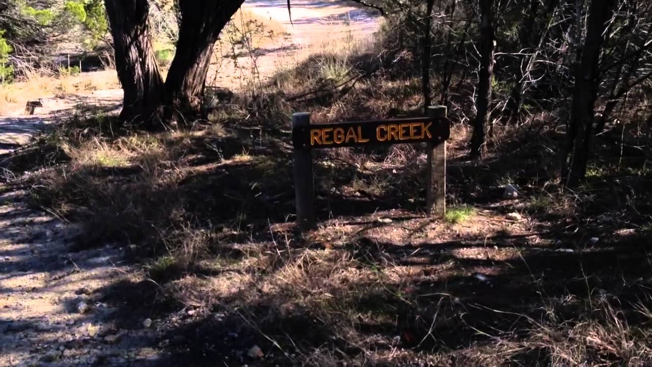 Wolf Mountain trail at Pedernales falls State Park January ...