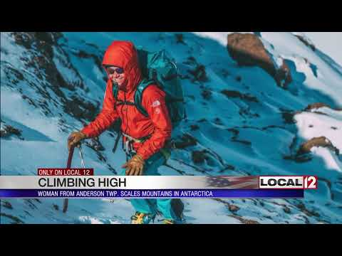 Woman with Cincinnati roots climbs mountains in Antarctica