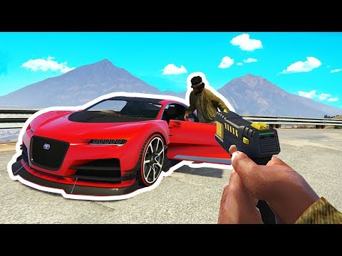 Cop Catches Drunk Guy Trying To Steal Car! GTA RP