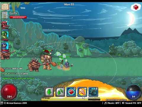 forgotten game the last castle multiplayer armor games youtube