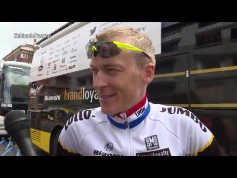 Robert Gesink (Lotto NL Jumbo) Interview - Tour the Basque Country 2016 / Itzulia 2016