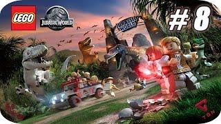 LEGO Jurassic World - Gameplay Español - Capitulo 8 - 1080p HD