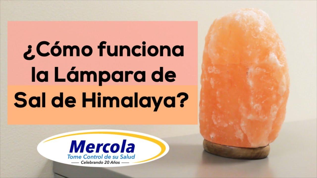 C mo funciona la lampara de sal de himalaya youtube - Piedra de sal del himalaya ...