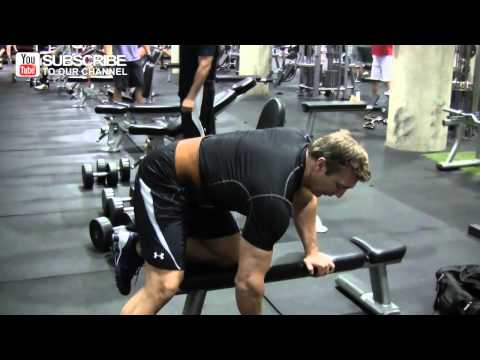 One Arm Dumbbell Row From Mr. Natural Olympia John Hansen