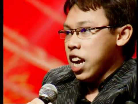 Indonesia's Got Talent Hernawan Eko Seriosa Singer (Soon to be Paul Potts)