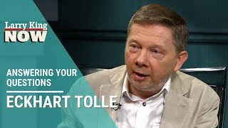 God, Handling Stress, and Not Being Starstruck: Eckhart Tolle Answers Your Questions