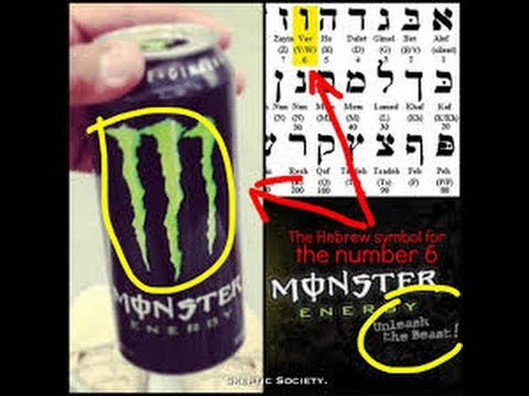 STAY AWAY FROM MONSTER ENERGY DRINKS! THEY REPRESENT EVIL.. - YouTube