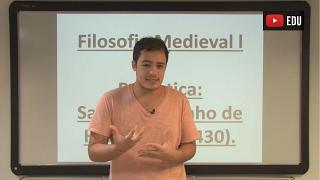 Videoaulas Poliedro | Filosofia medieval I: Santo Agostinho