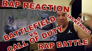 Battlefield vs Call of Duty Rap Battle! REACTION By Jackfrags