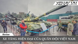 Tận tay sờ chiếc Xe tăng hiện đại của Quân đội Việt Nam | XE HAY