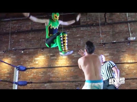 [Free Match] Young Lions Cup: Cam Zagami (c) vs. Green Ant | Beyond Wrestling #AllDay (CHIKARA, YLC)