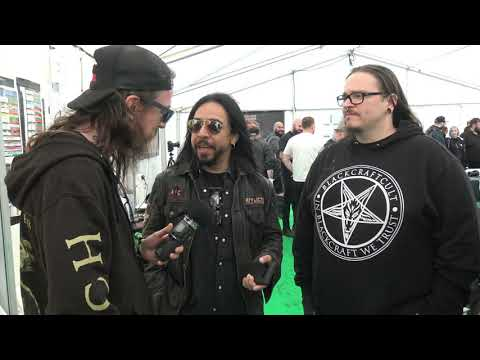 GBHBL Whiplash: Bloodstock 2019 Interview - 3 Headed Snake
