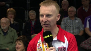 Just. 2019 World Indoor Bowls Championships: Day 14 Session 2