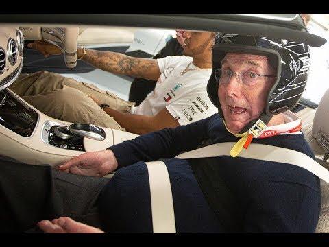 Frank Williams volvió a las pistas junto a Lewis Hamilton