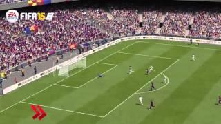 Gameplay FIFA 15 vs PES 2015 | Video HD