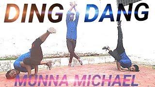 Ding Dang ! Munna Michael !! Melvin louis choreography type ! Mayank sarraf Dance choreography