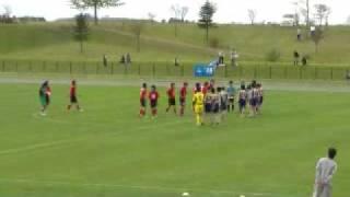 道東ブロックリーグ第1節 とかちフェアスカイ ジェネシス vs F.C. COSMIC