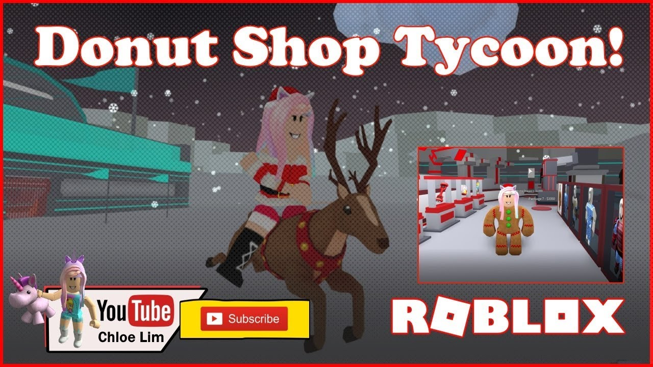 Roblox Donut Shop Tycoon Gameplay Playing Two Player Donut Tycoon