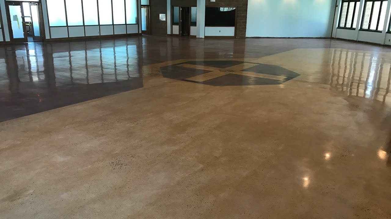 Concrete Polishing and Staining, Concrete Floor Solutions, Inc