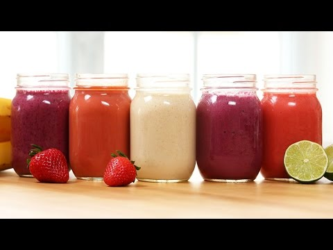 5 Fresh & Fruity Smoothie Recipes!