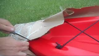 Unboxing- Perception Pescador 12.0 sit on Kayak!
