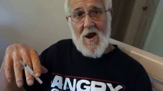 Angry Grandpa Is On Helium - The Tin Can Challenge Prank
