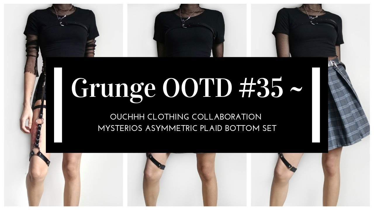 0fb84ad844 Grunge OOTD #35 ~ Ouchhh Clothing Collaboration ~ Mysterios ...