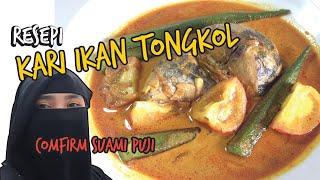 RESEPI KARI IKAN TONGKOL | confirm suami puji BAHAN-BAHAN 1 1/2 ekor ikan tongkol 1 1/2 serbuk kari 3 ulas bawang putih 2 biji bawang merah 1 sudu ...